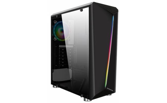 Xigmatek EDEN III Rainbow LED Tempered Glass